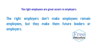 employees and employers